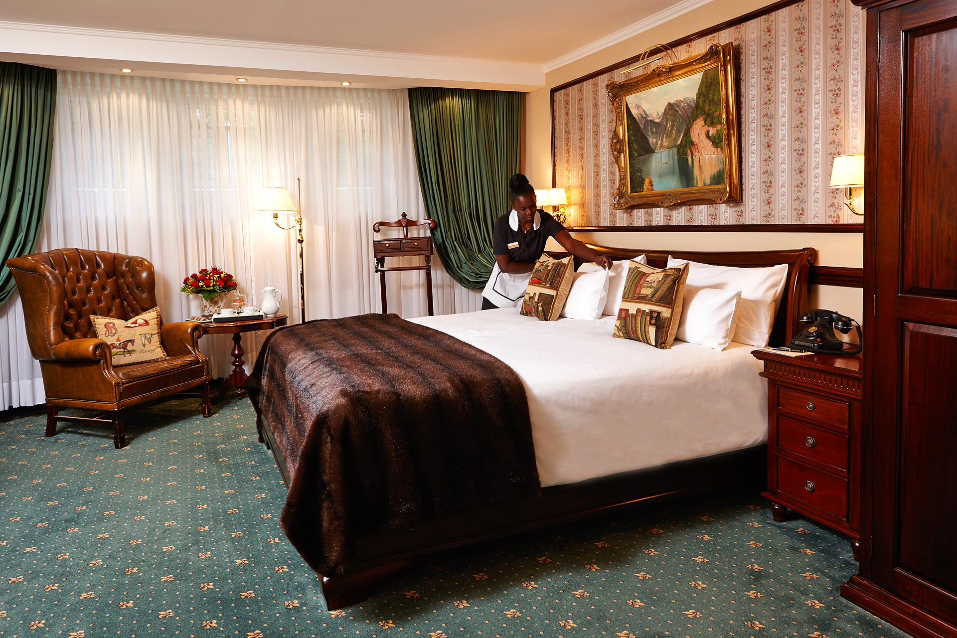 Klassisches Doppelzimmer