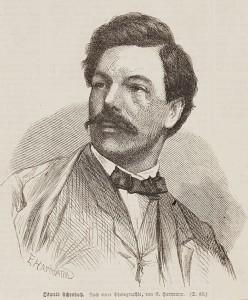 Portrait Oswald Achenbach - 1867
